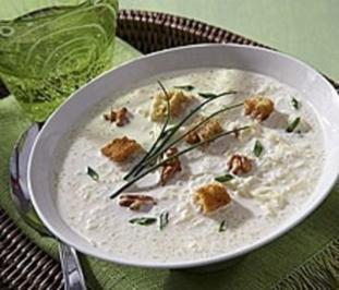 Cremige Sauerkrautsuppe - Rezept