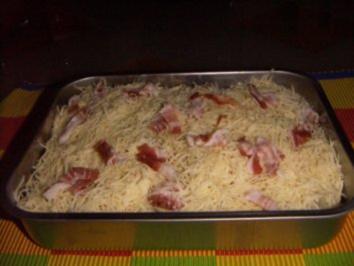 Kohlrabigratin mit Hähnchenbrust - Rezept