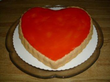 Rezept: Rotes Likör Herz