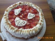 Torten: Schwarzwälder Erdbeertorte - meine Torte zum Muttertag - Rezept