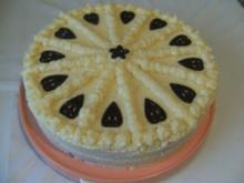 TORTE - Buttercreme-Pfirsich-Torte - Rezept