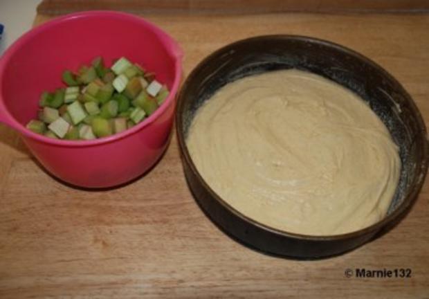 Rhabarberkuchen - Rezept - Bild Nr. 6