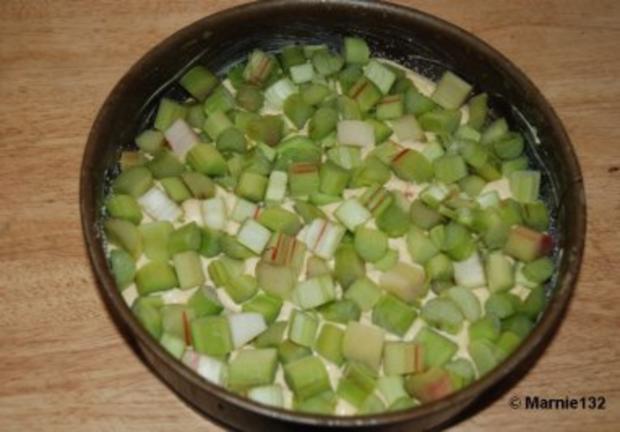 Rhabarberkuchen - Rezept - Bild Nr. 7