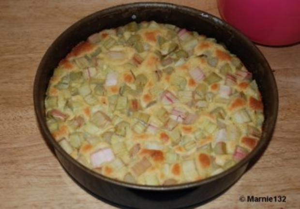 Rhabarberkuchen - Rezept - Bild Nr. 10