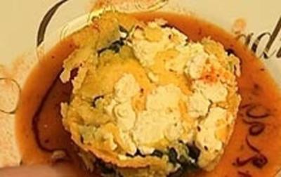 Polenta farcito mit Mangold und Brillat Savarin - Rezept - Bild Nr. 9