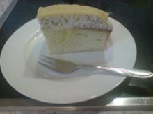 Nuss-Sahne-Marzipan-Kuchen - Rezept