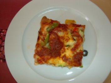 Gemüsepizza - Rezept