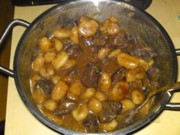 Gulaschtopf mit Gnocchi's - Rezept