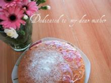 Sandtorte für den Muttertag - Rezept