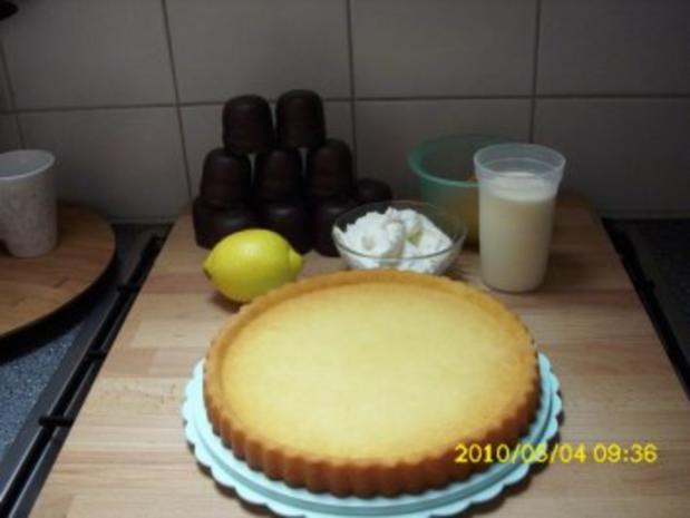 Schoko-Kuss-Torte - Rezept