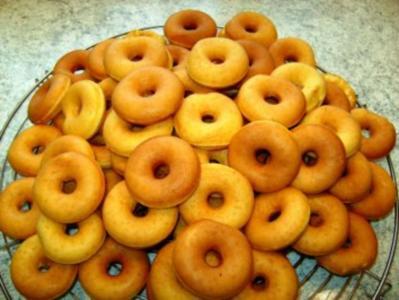 Donuts (mini) - Rezept