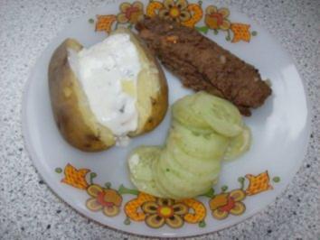 Backkartoffeln mit Sour-Creme - Rezept