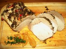 Schweinesteakbraten mit Chili und Zitronenthymian aus dem Ofen - Rezept