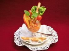 Husumer Beute im Mandarinenmantel oder Wie kommt der Fisch ins Glas? - Rezept