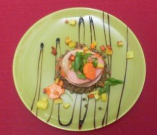 Linsen und Fleischwurst auf Senfrahm - Rezept - Bild Nr. 2
