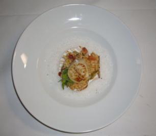 Tomatenrisotto mit Jakobsmuscheln - Rezept