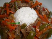 Zweimal gebratenes Rindfleisch - Rezept