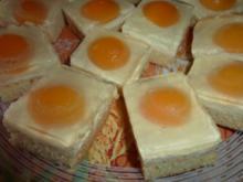 Kuchen: Spiegeleierkuchen - Rezept