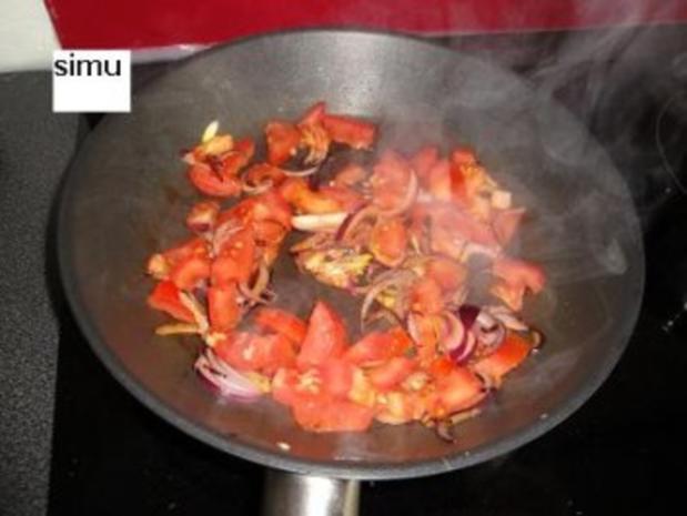 Straussenfilet auf Tomatencoulis - Rezept - Bild Nr. 3