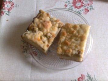Rharbarberkuchen mit Streußel - Rezept
