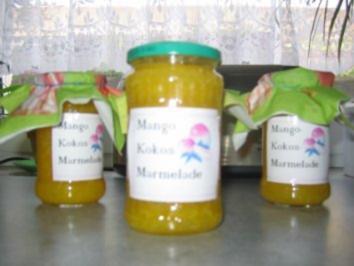 Mango-Kokos-Marmelade - Rezept