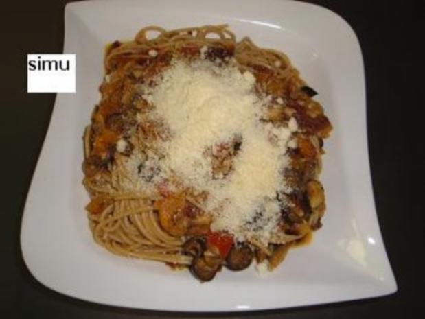 Spaghetti mit Gemüsesauce - Rezept - Bild Nr. 7