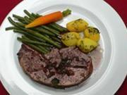 Lammkeule mit Gemüse und Kartoffeln - Rezept - Bild Nr. 2