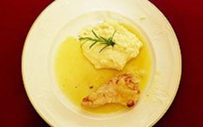 Paillard von der Pute auf Limonen-Chili-Soße (Norbert Dobeleit) - Rezept