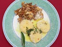 Gefüllte Gnocchi auf frittierten Artischocken - Rezept - Bild Nr. 2