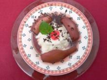 Sauermilchgelee mit beschwipsten Birnenstücken - Rezept - Bild Nr. 2