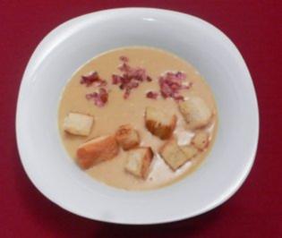 Feine Kartoffelsuppe mit Speck und Brotwürfeln - Rezept - Bild Nr. 2