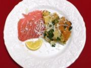 Zuppa Gallurese und Tunfischcarpaccio - Rezept - Bild Nr. 2