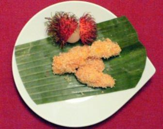 Rezept: Babybananen im Kokosmantel
