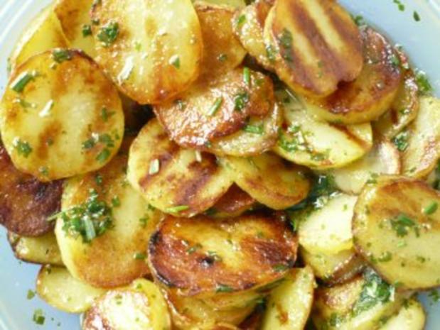 Kartoffelscheiben mariniert - Rezept