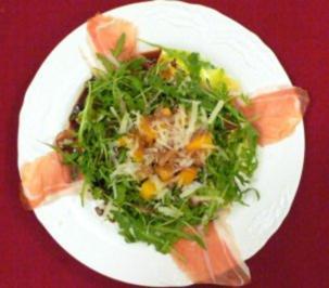 Warmer Kürbissalat mit Parmaschinken - Rezept - Bild Nr. 2