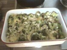 Brokkoli-Filet-Gratin mit Sauce Hollandaise - Rezept