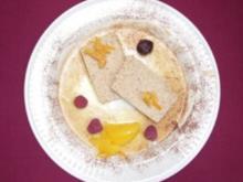Kastanienpavé mit Orangensoße - Rezept - Bild Nr. 2