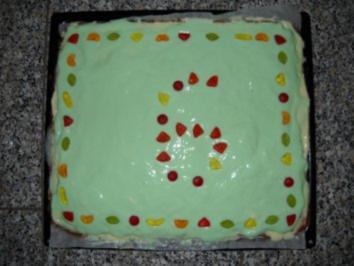 Aprikosen-Götterspeise-Kuchen - Rezept