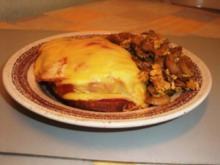 Überbackenes Kassler auf Brot - Rezept