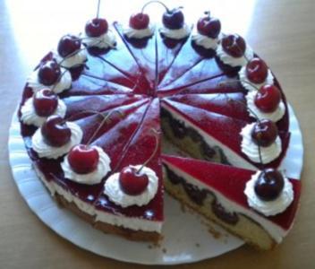 Schneewittchenkuchen - Rezept