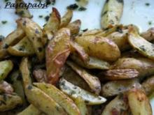 Bärlauch Wedges - Rezept