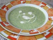 Süppchen: Rucolasuppe - Rezept