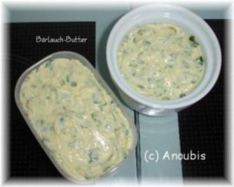 Dips usw. - Bärlauch-Butter - Rezept