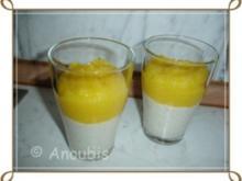 """Dessert - """"Froop"""" Joghurt mit Mango - Rezept"""