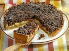 Apfelkuchen mit Schoko-Streusel - Rezept