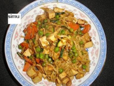 Wok-Tofu - Rezept