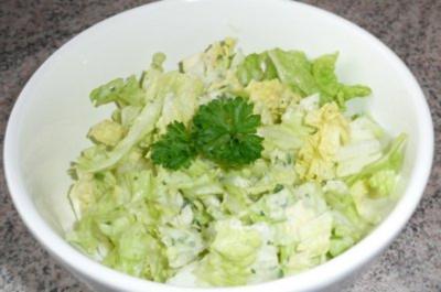 Rezept: Salate Chinakohlsalat