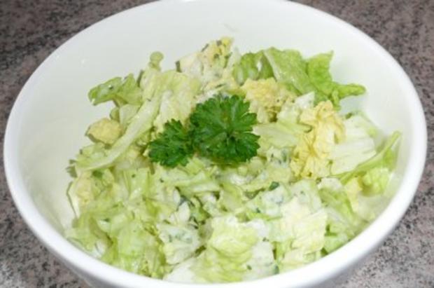 Salate Chinakohlsalat - Rezept
