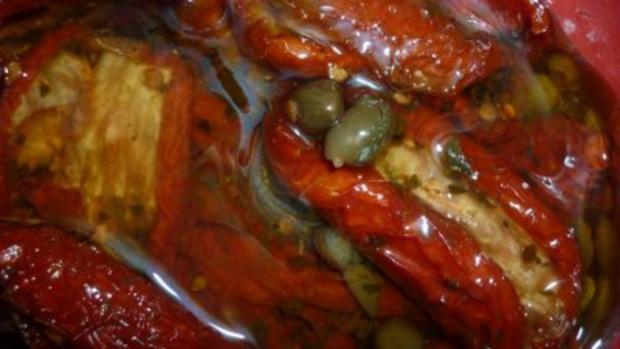 Tomaten-Kräuterpesto mit Sonnenblumenkernen und Balsamico - Rezept - Bild Nr. 3