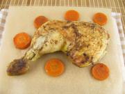Hähnchenschenkel im Bratschlauch - Rezept - Bild Nr. 2